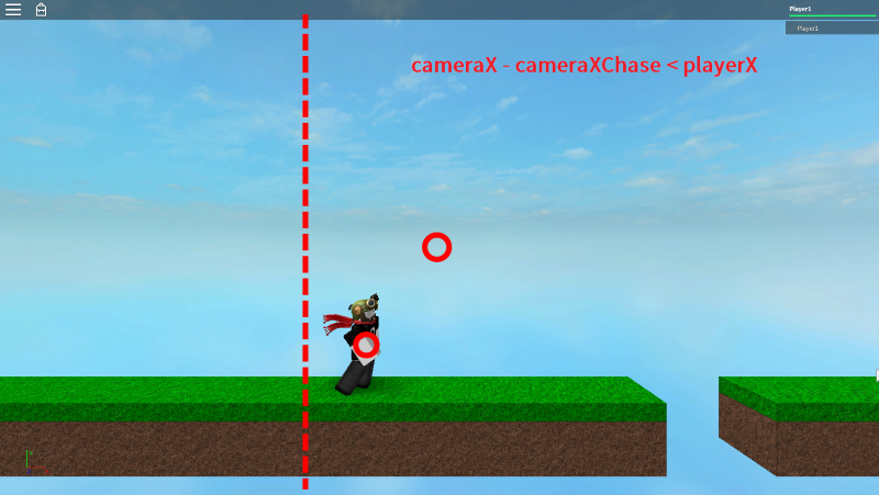 Side-Scrolling Camera View