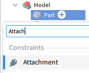 Inserting an Attachment using the + button
